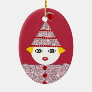 Ornamento personalizado de Martzkin de la malla Ornamento De Navidad