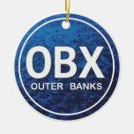 Ornamento personalizado de OBX Outer Banks Ornamente De Reyes