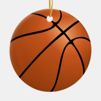 Ornamento personalizado del baloncesto de la foto adorno de reyes