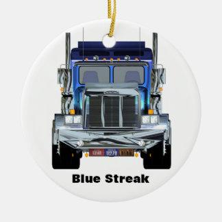 Ornamento personalizado del camionero adornos de navidad
