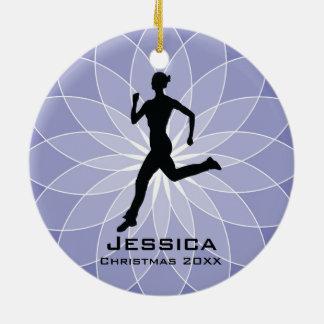 Ornamento personalizado del corredor del basculado