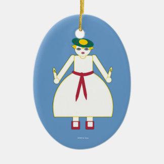 Ornamento personalizado del día de Martzkin St Adornos De Navidad
