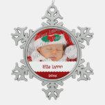 Ornamento personalizado del navidad de la foto adornos