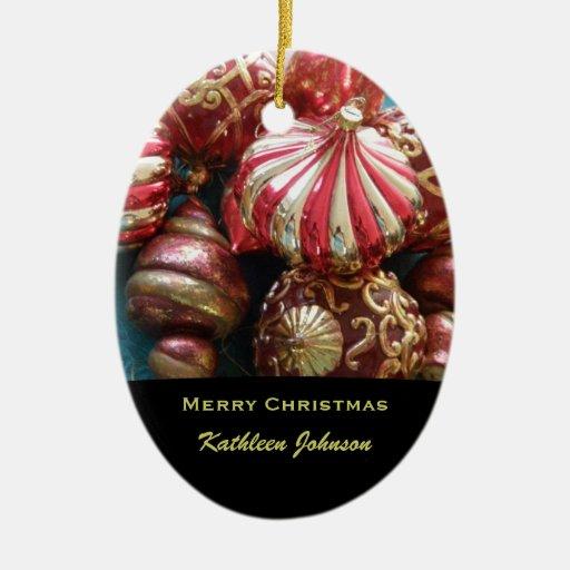 Ornamento personalizado del navidad ornamento para reyes magos