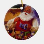 Ornamento personalizado del navidad del juguete de ornatos