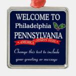 Ornamento personalizado del navidad del PA de Adorno De Reyes