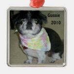 ornamento personalizado del perro adornos de navidad