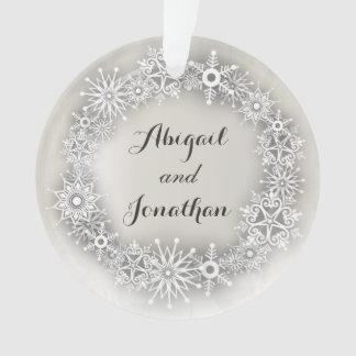 Ornamento personalizado guirnalda del navidad de