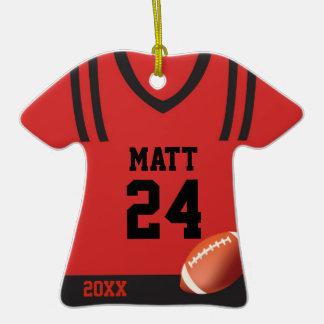 Ornamento personalizado jersey del fútbol ornato