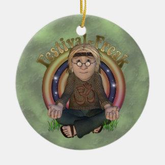 Ornamento personalizado monstruo del festival adorno