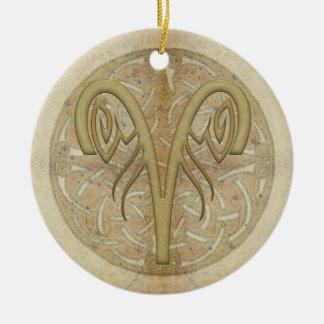 Ornamento personalizado muestra de la estrella del adornos de navidad