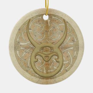 Ornamento personalizado muestra de la estrella del adornos