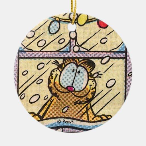Ornamento PERSONALIZADO Nochebuena de Garfield Ornamento De Reyes Magos