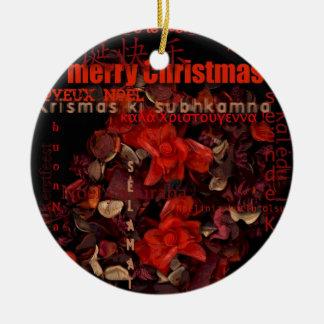 Ornamento personalizado Noel de Navidad del Ornamentos De Reyes