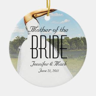 Ornamento personalizado novia del prado adorno