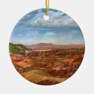 Ornamento pintado del vintage del desierto ornamento para arbol de navidad