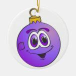 Ornamento púrpura Cartoon.png del navidad Ornamento Para Reyes Magos