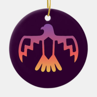 Ornamento púrpura de Thunderbird