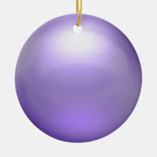 Ornamento púrpura del orbe ornamento de navidad