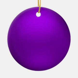 Ornamento púrpura del orbe del satén adorno de reyes