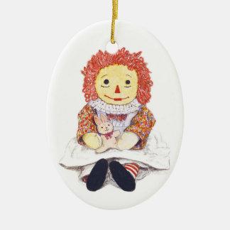 Ornamento Raggedy de Ana Ornatos