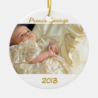 Ornamento real del bebé ornamentos de reyes magos
