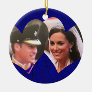 Ornamento real del boda de Guillermo y de Kate Ornamente De Reyes