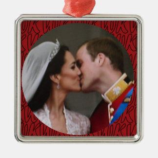 Ornamento real del boda de Guillermo y de Kate Ornaments Para Arbol De Navidad