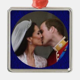 Ornamento real del boda de Guillermo y de Kate Ornamentos De Reyes