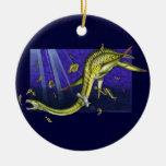 Ornamento redondo de Plesiosaur Ornamentos De Navidad