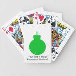 ornamento redondo green.png del navidad cartas de juego