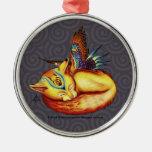 Ornamento redondo superior de De oro-Como-Sun Ornamentos Para Reyes Magos