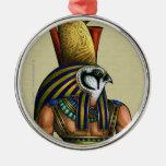 Ornamento redondo superior de Horus Adornos