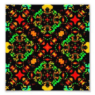 Ornamento refinado colores vibrantes fotografias