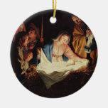 Ornamento religioso de la pintura de escena de la  adorno