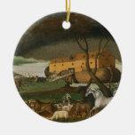 Ornamento religioso de la pintura del vintage de l adornos