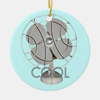 Ornamento retro de la fan eléctrica ornato