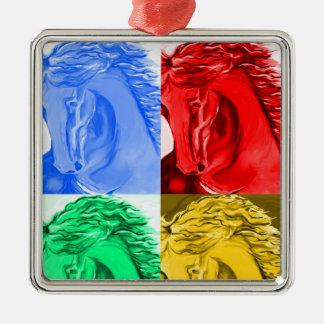 Ornamento retro del caballo ornamentos para reyes magos