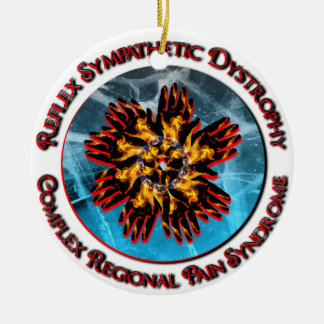 Ornamento rojo del anillo de CRPS de RSD Ornamento Para Reyes Magos