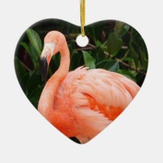 Ornamento rosado del flamenco adorno para reyes