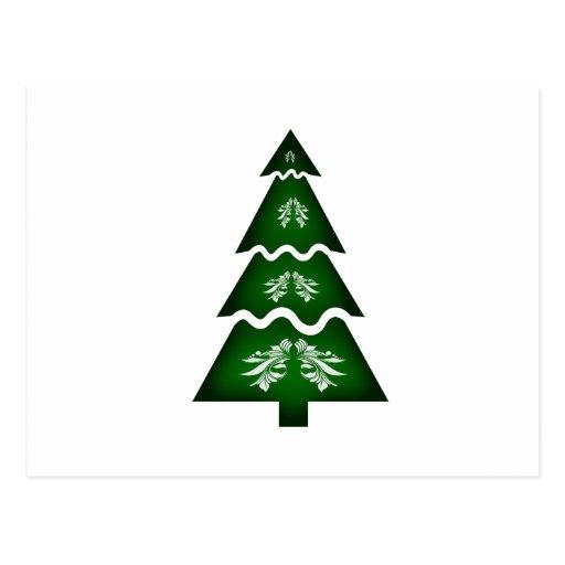 Ornamento seccional 2 de la llamada del árbol de n postales