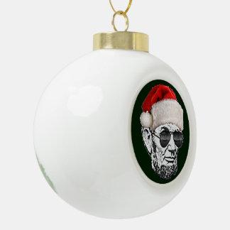 Ornamento secreto del árbol de navidad de Lincoln Adorno