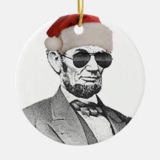 Ornamento secreto del árbol de navidad de Lincoln Adorno De Reyes