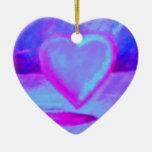 Ornamento solo del corazón del corazón ornamento para reyes magos