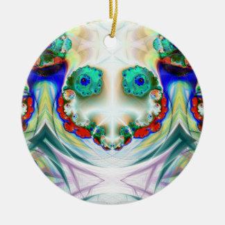 Ornamento sonriente del muñeco de nieve espeluznan adorno para reyes