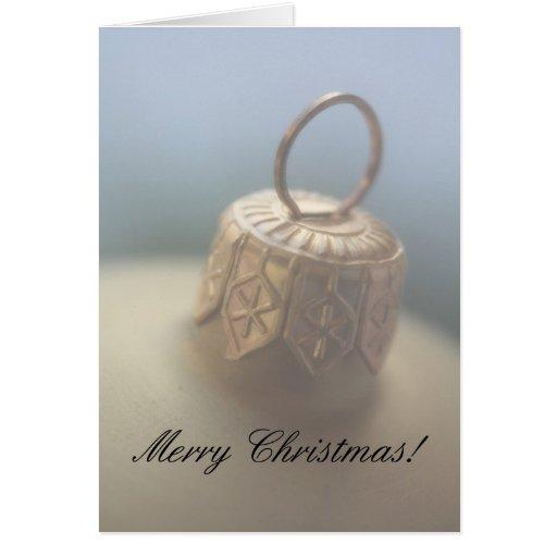 ornamento suave del navidad del foco de las Felice Tarjeta De Felicitación