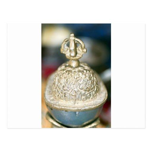 Ornamento tibetano sagrado postales