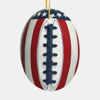 Ornamento Todo-Americano del navidad del fútbol Adornos