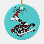 Ornamento tonto del navidad de la serpiente de San Ornaments Para Arbol De Navidad