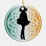 Ornamento tradicional del bailarín irlandés adorno de reyes